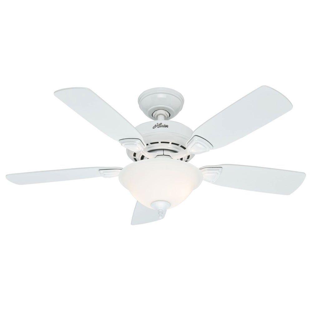 Hunter Fan 44 Inch Caraway Five Minute Fan Grey In 2020 Ceiling