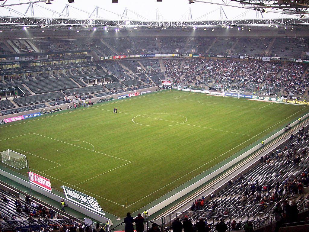 Borussia Park Localizacao Monchengladbach Alemanha