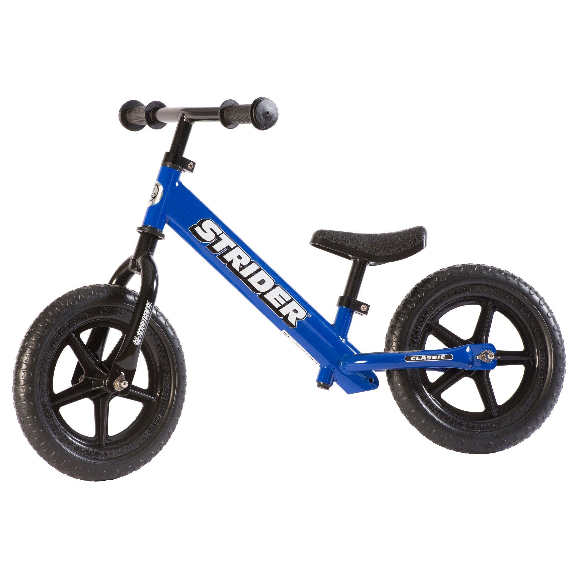 STRIDER 12' Classic Kids' Balance Bike Blue in 2020