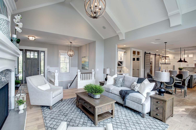 Beautiful contemporary coastal home nestled on the shores