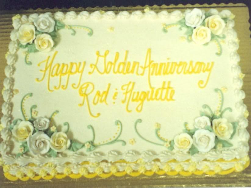 Anniversary Sheet Cake Photo 1