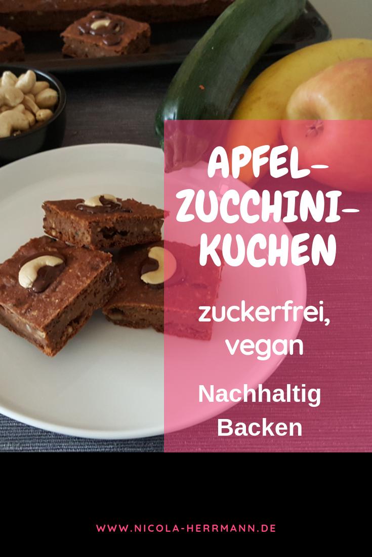 Zuchini Apfel Kuchen Rezept Kuchen Ohne Zucker Vegan Zuckerfrei Zuckerfreie Ernahrung