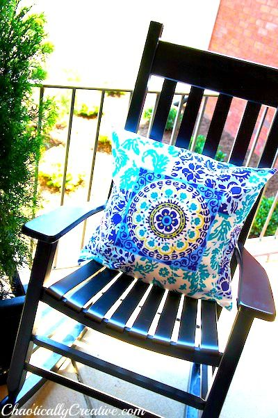 DIY Outdoor Pillow Any Size Any Style