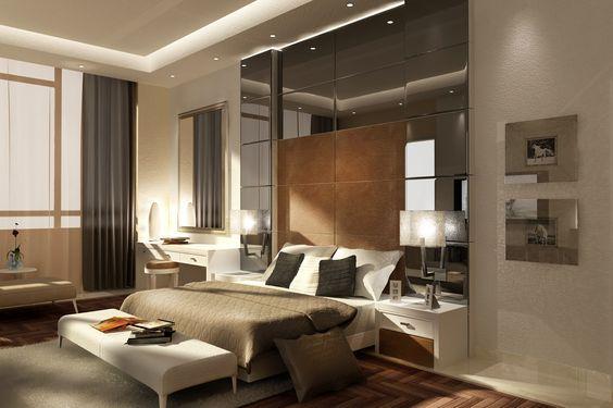 Amazing Bedroom 3d Design With 3d Render 3d Max Interior Design Bedroom Design Modern Master Recamara Principal Interiores Decoracion De Unas