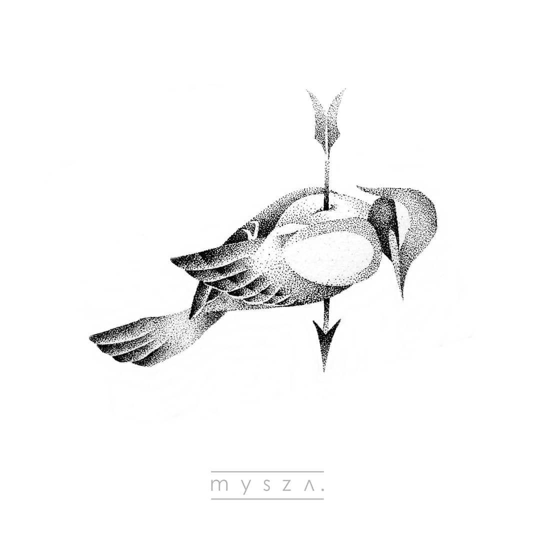 . don't be that way #birdy #birdtattoo #dotwork #tattoo #tattoos #tts #polandink #polandtattoos #polskiedziary #polskietatuaze #dot #dotwork #dotworkers #tattooart #blackink #flash #flashart #flashaddicted #drawing #illustration #blackworkers #tattooed #tattooedman #ink #kropki #inked #greywash #tattoomachine #wroclaw #wroclawtattoo