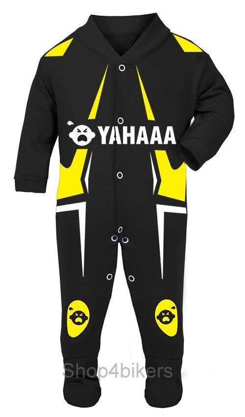 Dukitti Baby Biker Race Sleep Suits