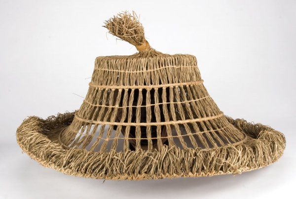 Lightning straw hat from Big Trouble in Little China | STRAW