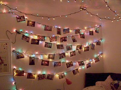 The Good Life Christmas Light Wall Christmas Lights In Bedroom
