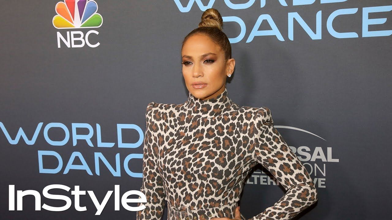 Jennifer Lopez's Sleek Top Knot Hair Tutorial InStyle