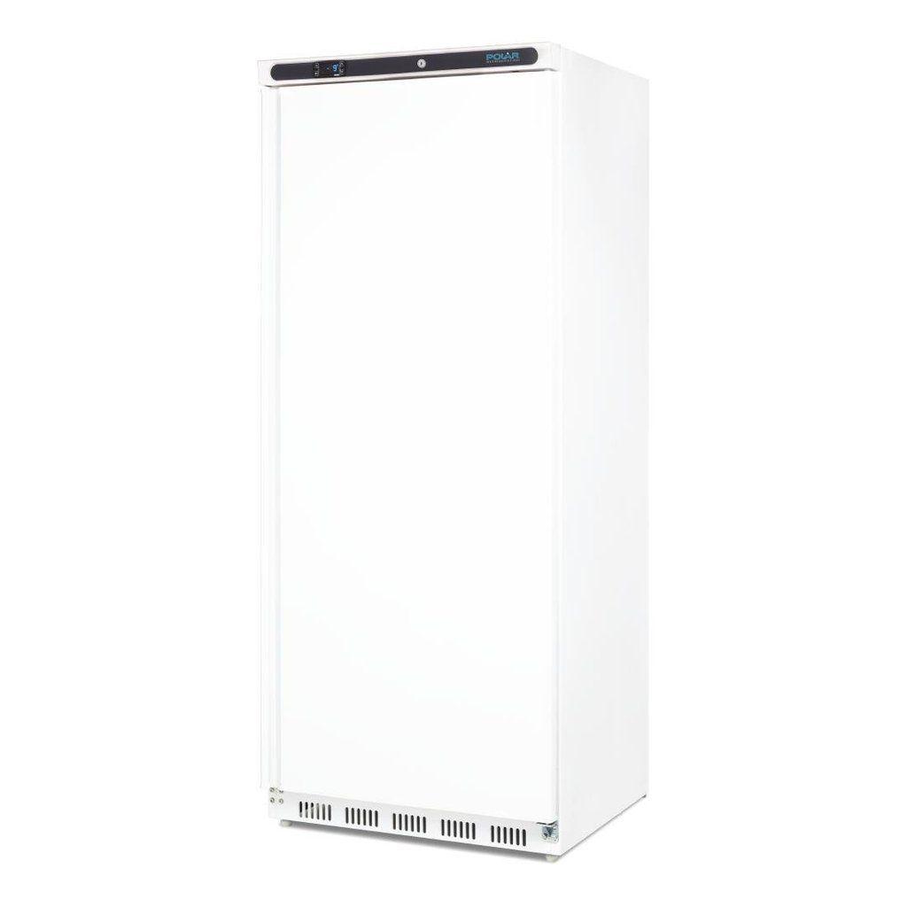 Polar Single Door Upright Freezer 600l White Ice Group Hospitalitywarehouse Single Doors Upright Freezer Commercial Catering Equipment