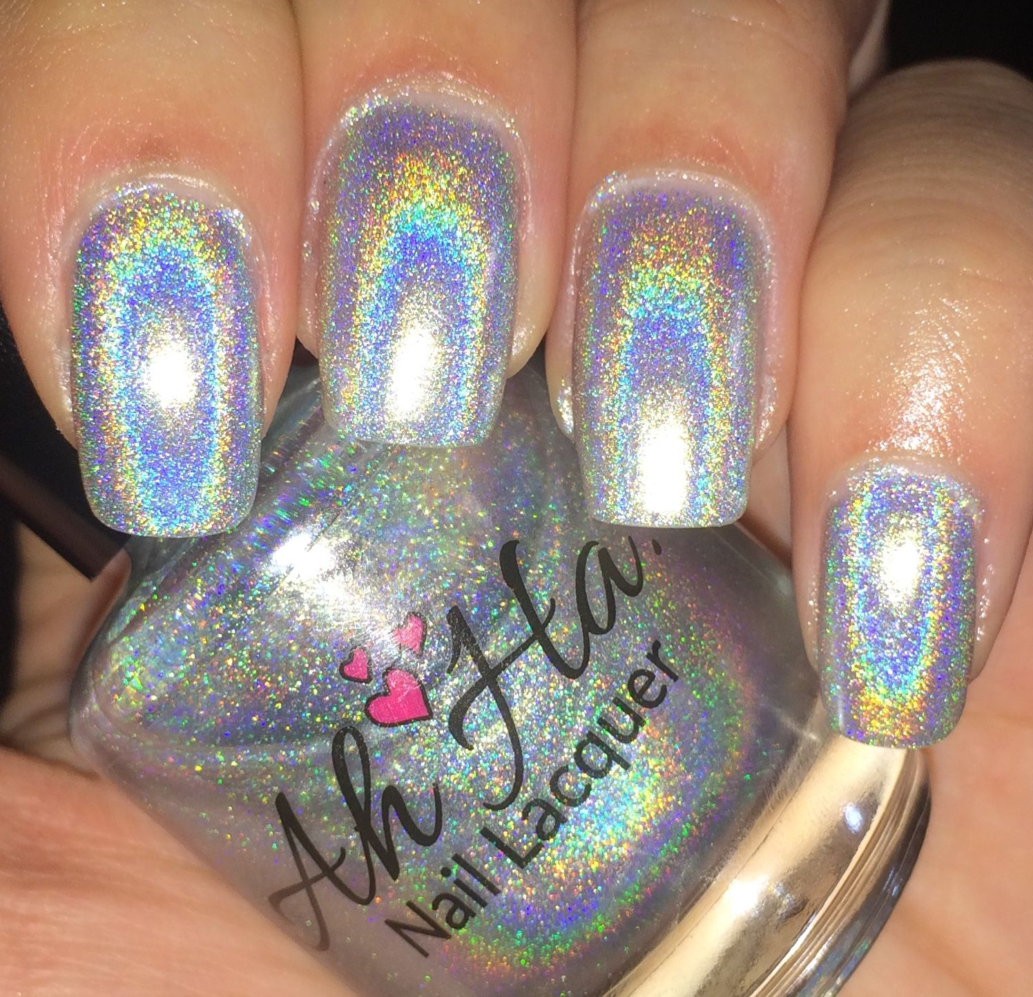 Silver Holographic available on Etsy!! | Nail Art | Pinterest ...