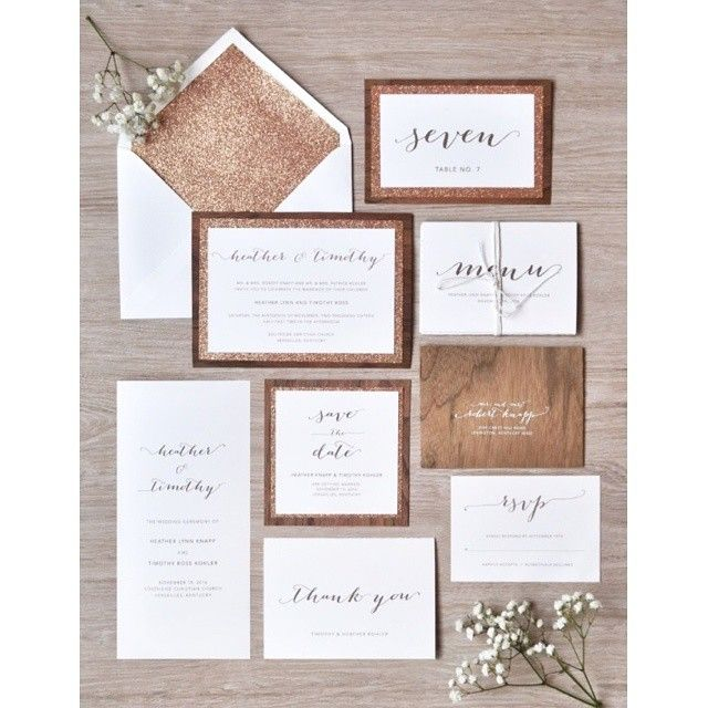 Wchappyhour engagingpapers paper goods calligraphy serving new why rustic glam wedding invitations of course the heather suite from engagingpapers is packed full of all the essentials including the save stopboris Gallery
