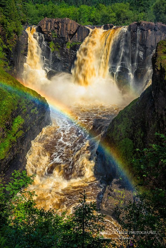 Waterfall Photography High Falls in by SoulCenteredPhotoart