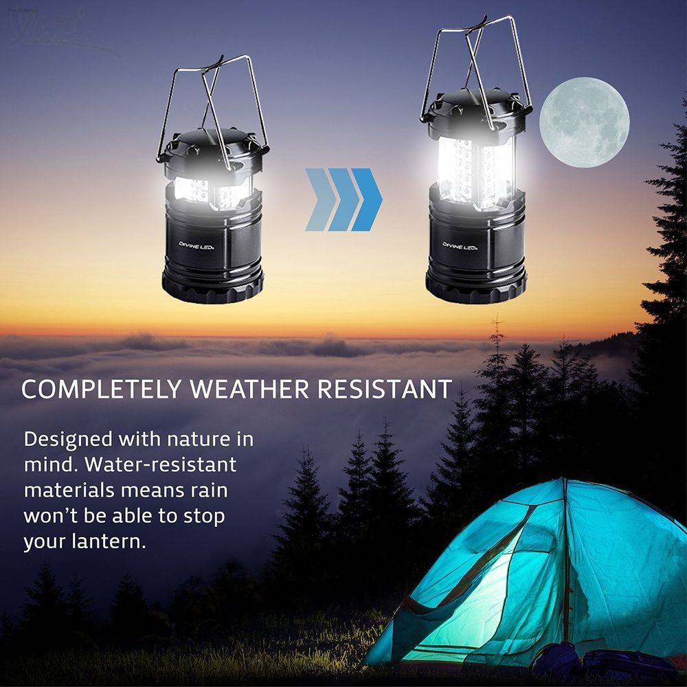 Led Bulb Intelligent Rechargeable Emergency Camping Lamp Light Water Resistant Sporting Goods Outdoor Spor Led Camping Lantern Camping Lanterns Led Lantern