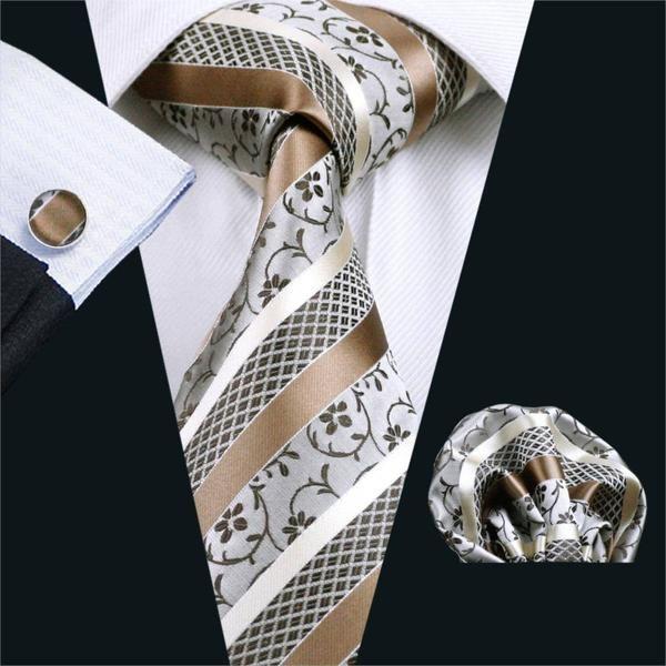 El Dorado Tie, Pocket Square and Cufflinks