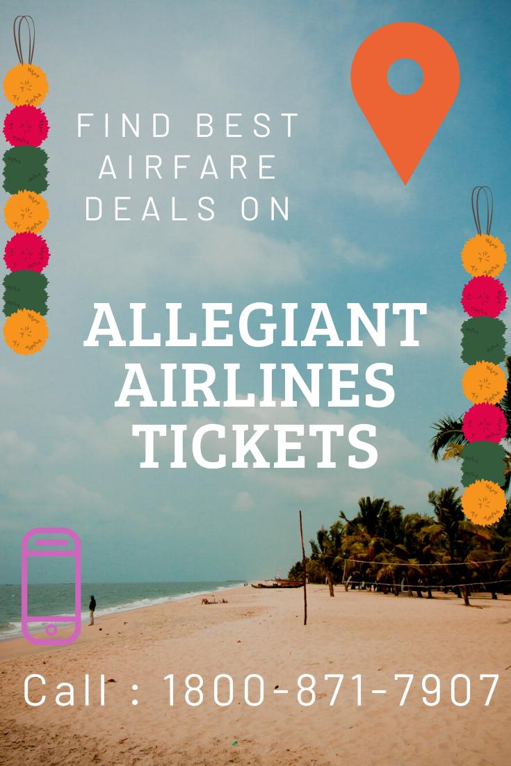 Find Airfare Deals on Allegiant Airlines Tickets en 2020