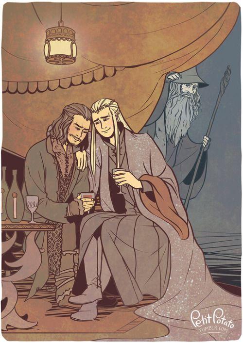 The Hobbit - Thranduil x Bard - Barduil | Thranduil & Bard