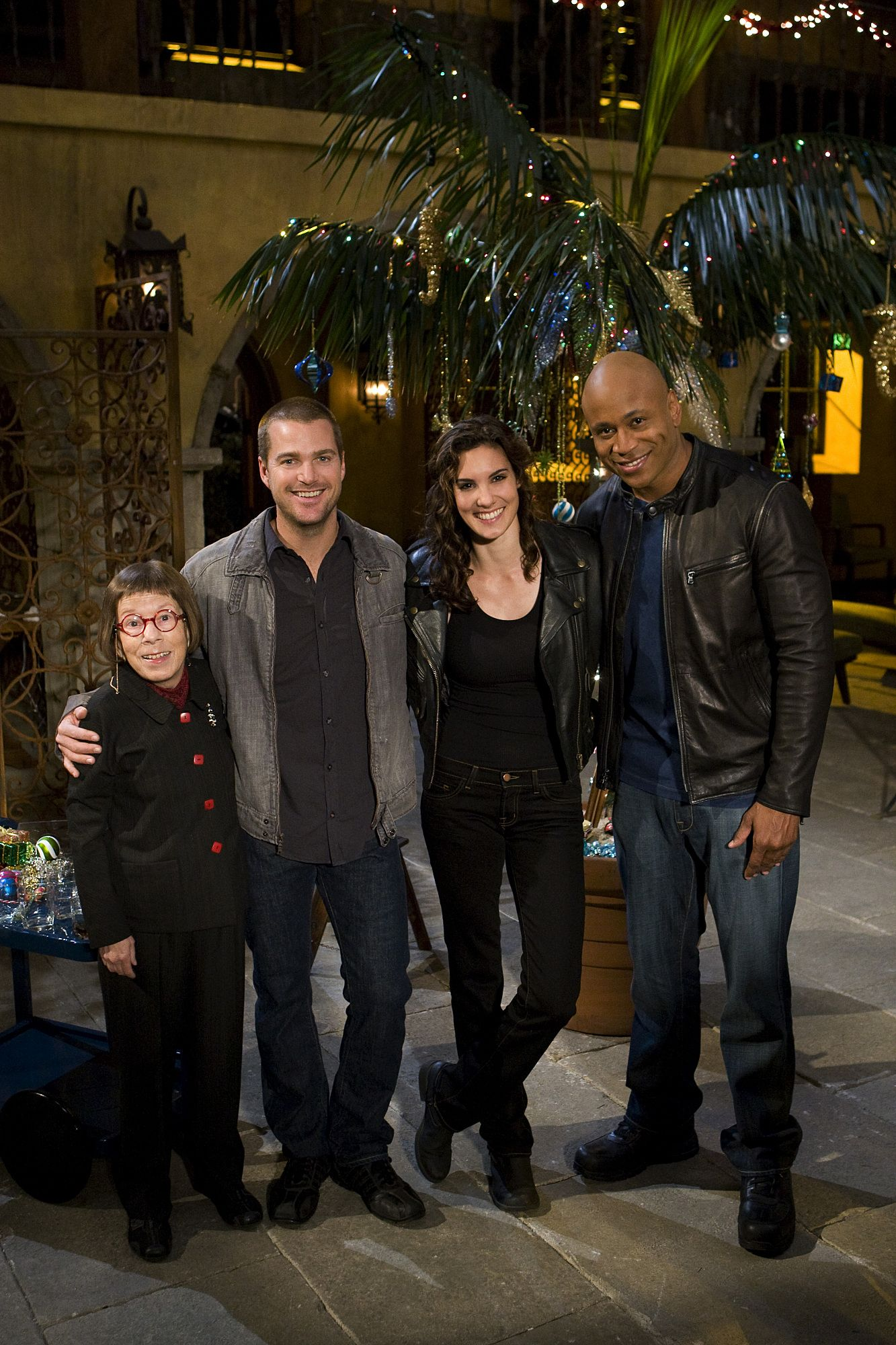 who plays heddy on ncis los angeles