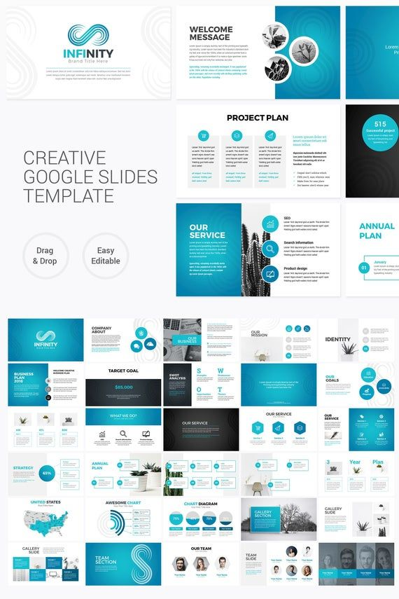 Creative Business Google Slides Presentation Template
