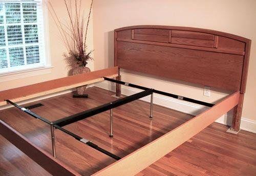 Best Metal Bed Side Rails V Rail Adjustable Center Support 400 x 300