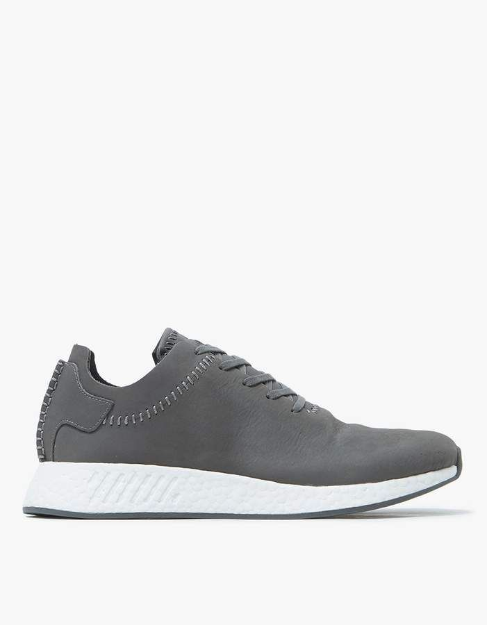 7ee8bc9c7 Adidas x Wings+Horns   NMD R2 Leather in Ash Off White in 2018 ...