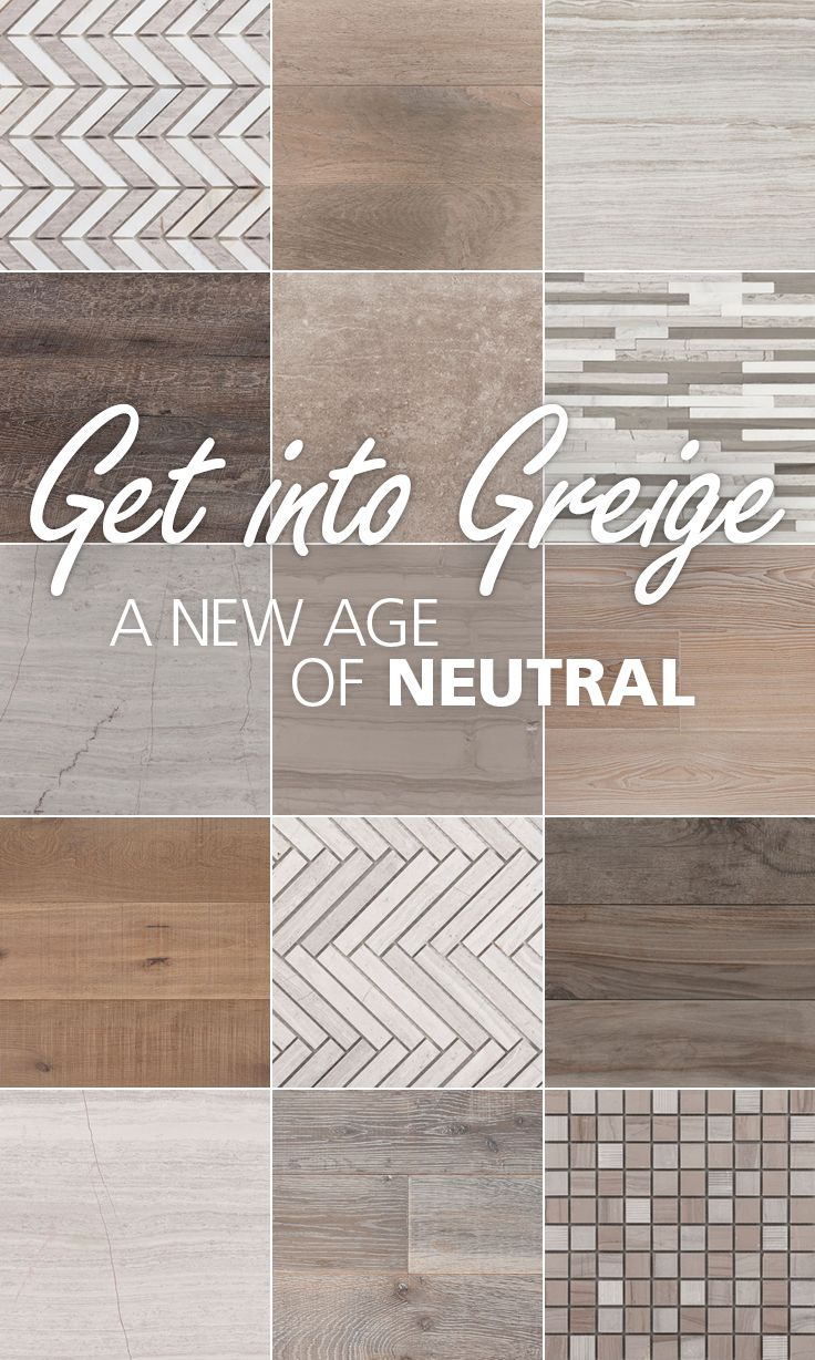 Greige greigedesign diy home decor pinterest for Tile and paint combinations
