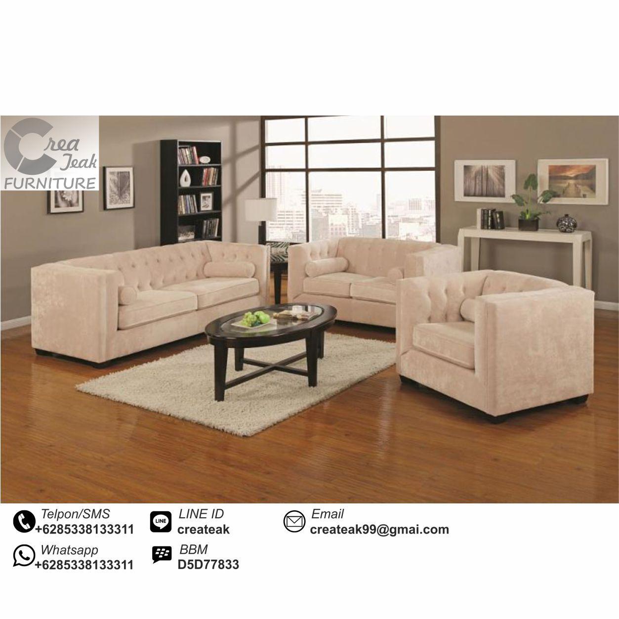 Set Sofa Ruang Tamu Modern Vellita