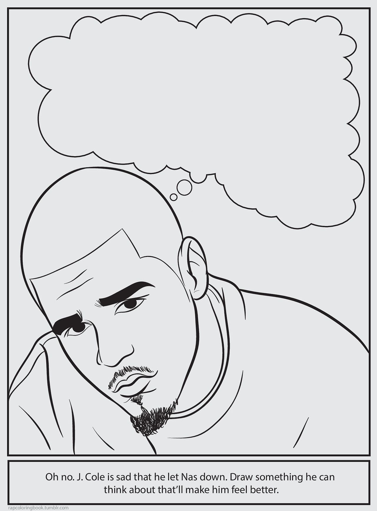 Bun B\'s Jumbo Coloring And Rap Activity Tumblr : Photo | Hood Shit ...