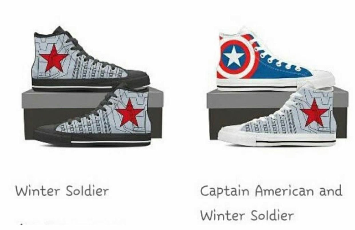 Just the Winter Soldier ones for me thank you Forundre  Marvel