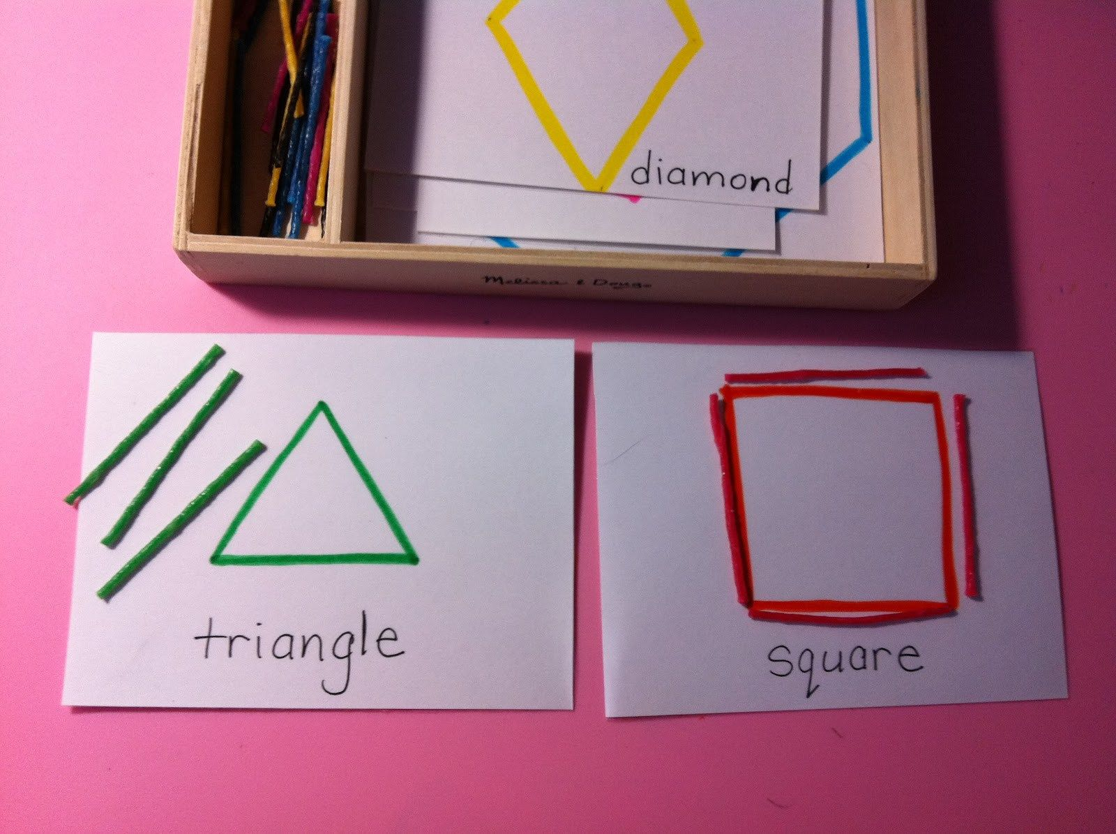 Another Simple Way To Work On Geometry Shapes Montessori