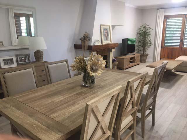 Las casas de los lectores: La casa de Marta #comedor #decora