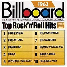 1 Tom Macdonald Google Top 10 Rock N Roll Hits 1962 Booker T The Mg S Green Music Charts Billboard Hits Billboard