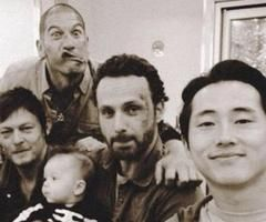 Jon, Norman, Andrew, Steven and baby.