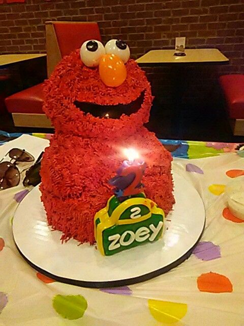 Peter Piper Pizza Peter Piper Pizza Peter Piper Elmo Cake