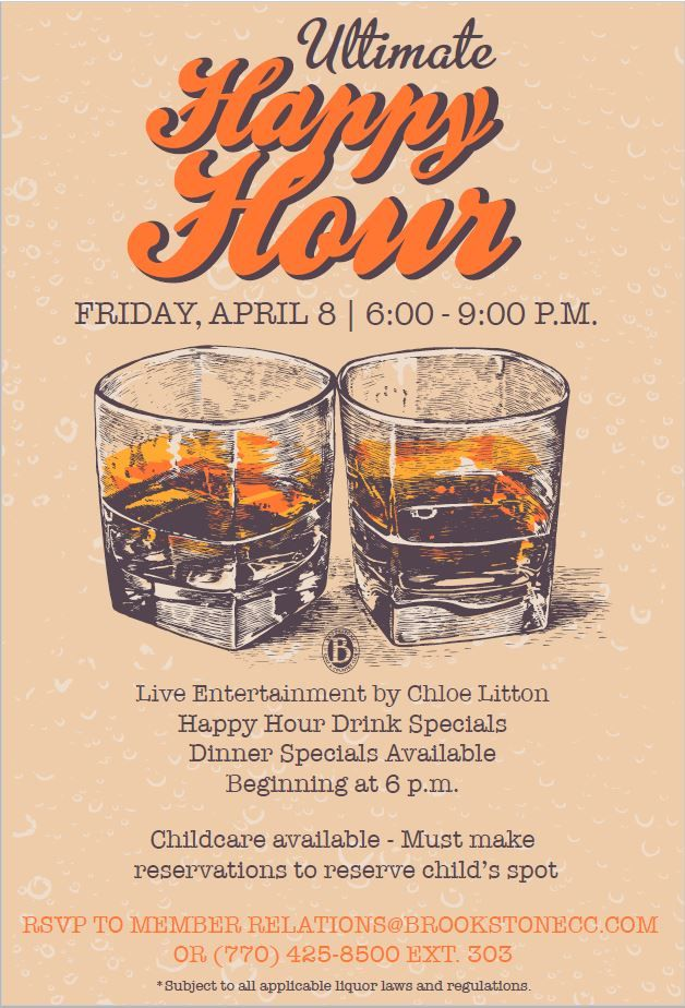 Happy Hour Event Flyer Poster Template Misc