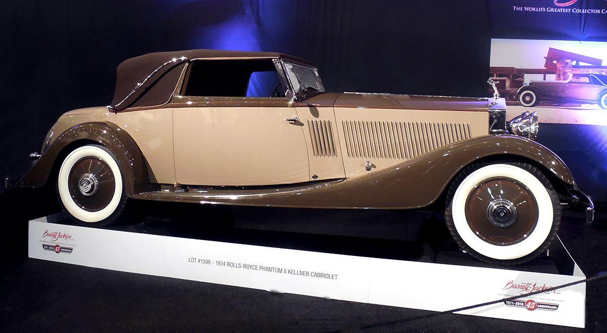 34 Rolls Royce Phantom II Kellner Cabriolet