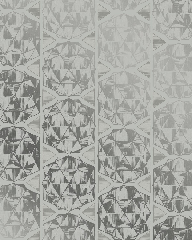Escher Gray Screen printing, Used vinyl, Wall wallpaper