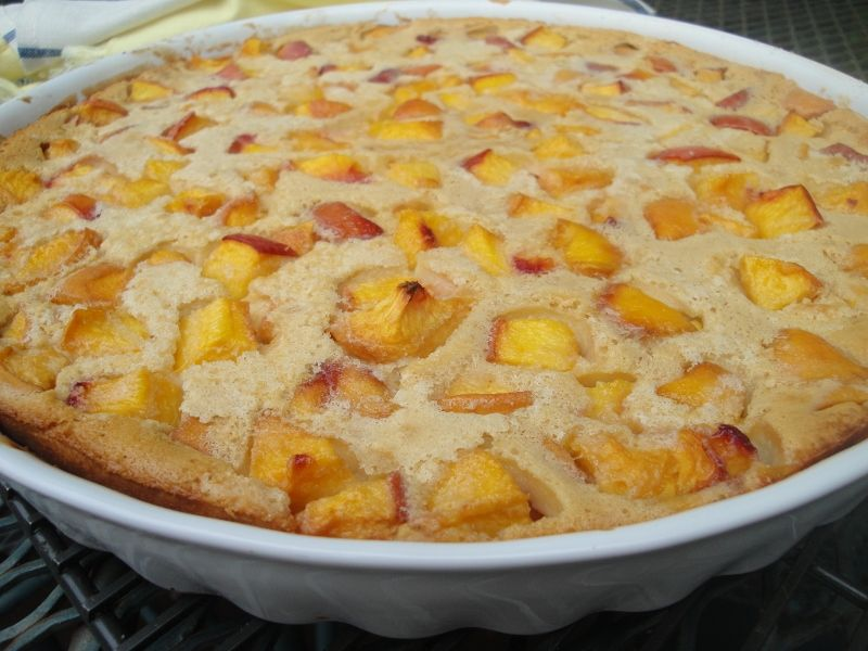 This peach clafoutis is a very easy french dessert to make this peach clafoutis is a very easy french dessert to makerfect forumfinder Choice Image