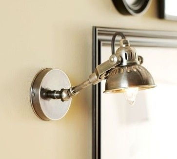Petit Industrial Sconce Modern Wall Sconces Pottery