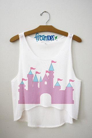 93df7191f17 Princess Lifestyle Crop Top - Fresh-tops.com | Crop tops/sweatshirts ...