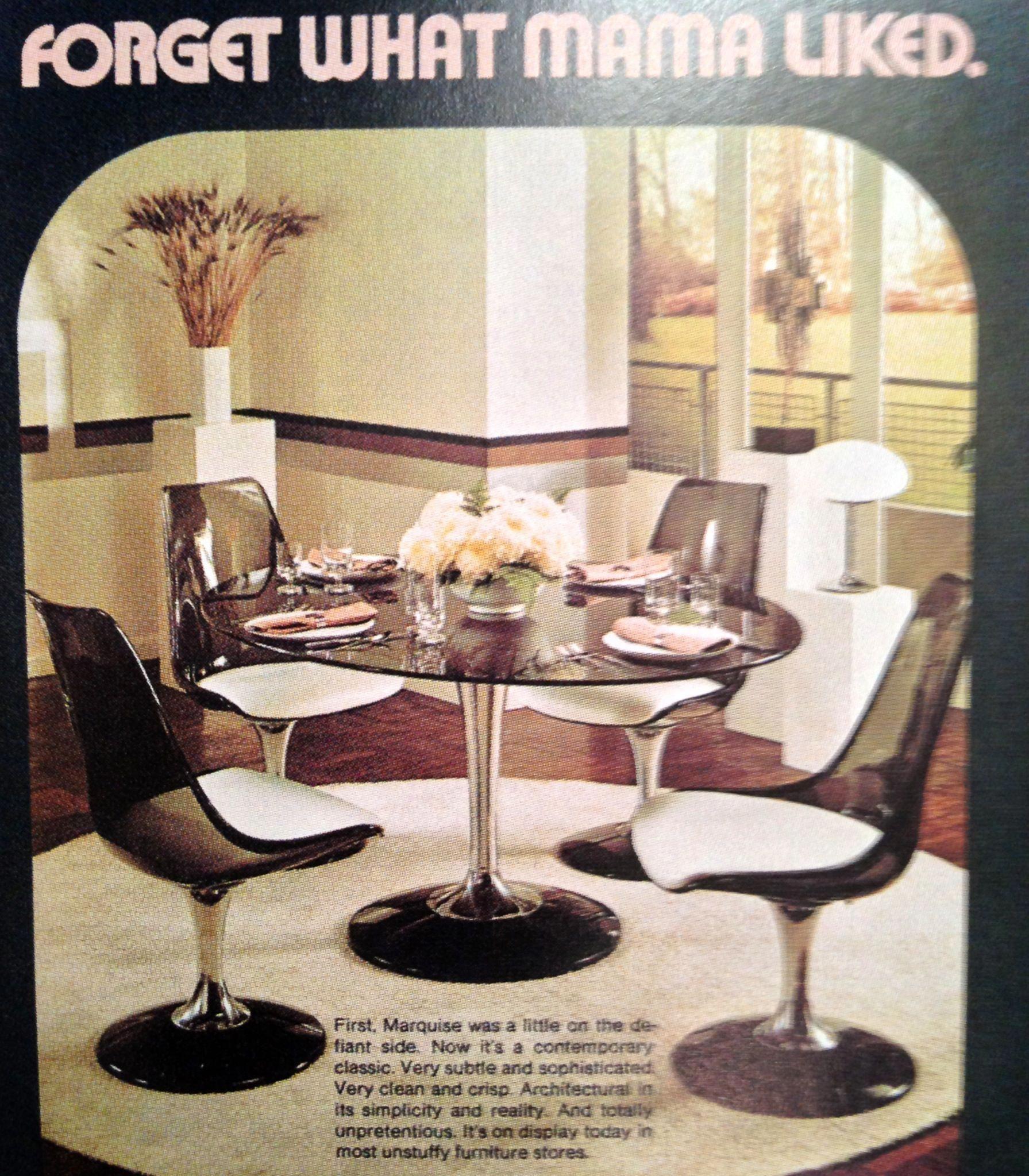 Seventies Kitchen dining advertising # ...