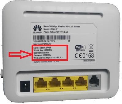 We Huawei Hg532n Hg531 V1 Configuration Huawei Power Rating Wifi Password