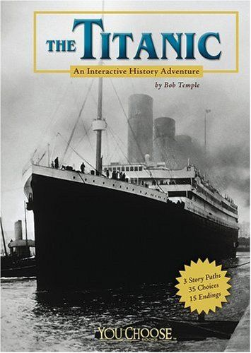This is hands down the most popular book in my classroom right now.  The stories are short and approachable.  The font is larger and the interactive nature of the books makes in highly engaging.  MC.The Titanic: An Interactive History Adventure (You Choose Books) by Bob Temple,http://www.amazon.com/dp/1429611820/ref=cm_sw_r_pi_dp_iuRysb1NMT7CAJRN