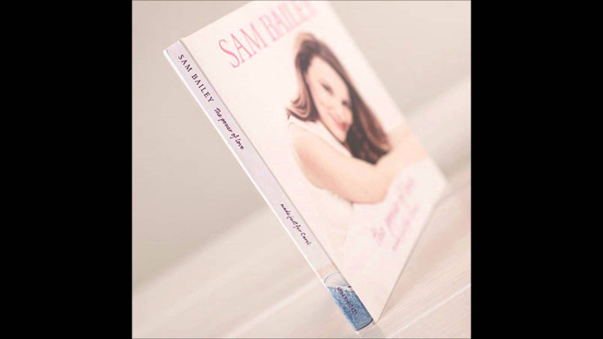 Sam Bailey There You Ll Be Debut Album Version Sam Bailey Debut Album Music Covers
