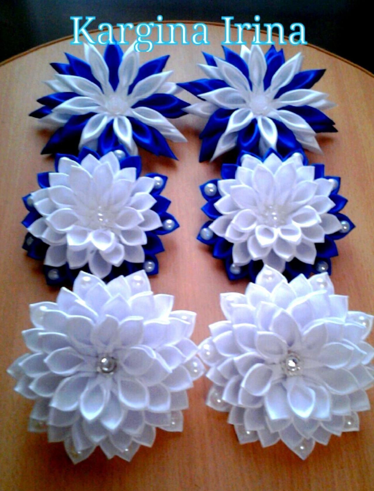 Я вам помогу!Все о Канзаши. Все МК на mamakuban.ru   OK.RU - MyKingList.com #ribbonflower
