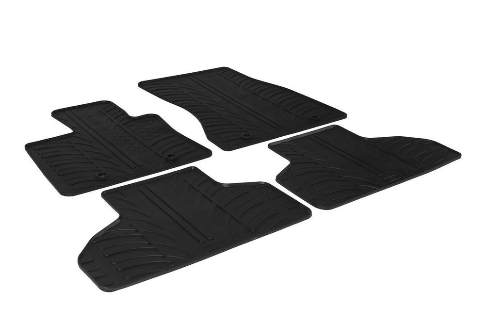 BMW X5 F15 2013 Custom Fit Rubber Floor Mats All Weather