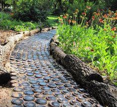 11 отличных идей для садовой дорожки