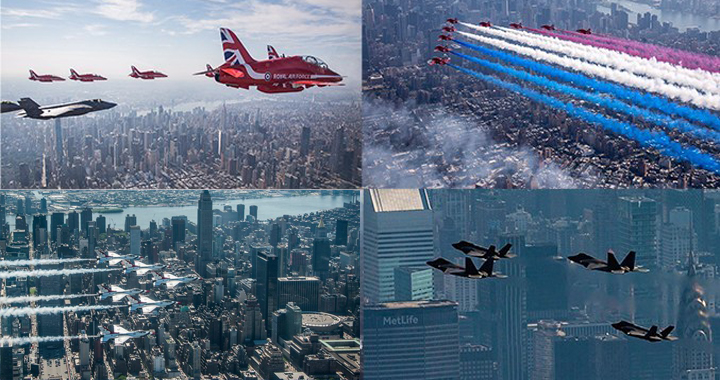 Epic Photos & Videos of Red Arrows, Thunderbirds, F22 & F