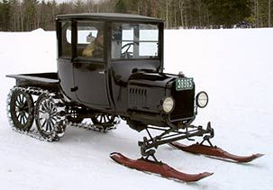 Model T Conversion By The Snowmobile Co Inc Until The