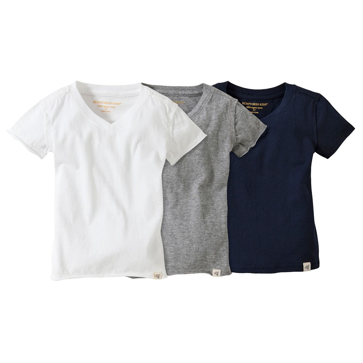 4111fbdb1 V-Neck Kids Tees 3-pack